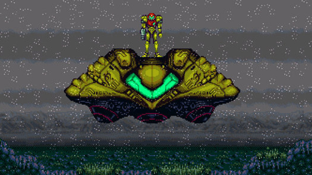 Super Metroid needs a faster CPU than the original 3DS?  Photo: Nintendo