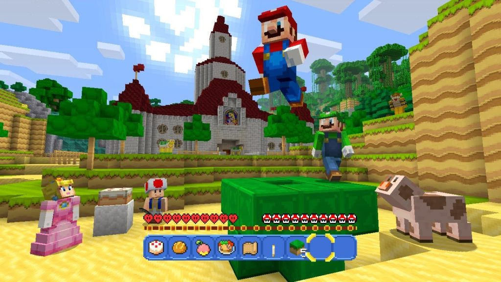 Mario and Minecraft? Yes, please! Photo: Nintendo