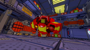 Giant robots and voxel graphics? Yes, please.